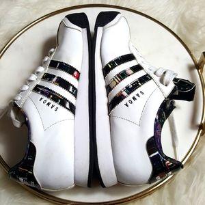 adidas samoa tennis  shoes size 7